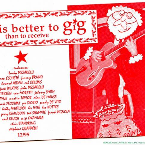 Benedetto Guitars Archives | ARCH ART, ADS & DESIGN - Benedetto